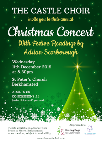 Christmas Concert 2019 Poster